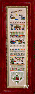 Christmas Day Sampler from The Victoria Sampler - click for more