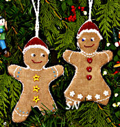 Gingerbread Cookies from The Victoria Sampler - click for more
