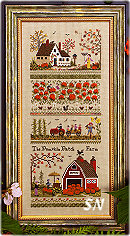 Pumpkin Patch Farm from The Victoria Sampler - click for more
