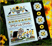 Sunflower Cottage from The Victoria Sampler - click for more