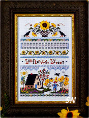 Sunflower Street from The Victoria Sampler - click for more