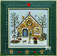 Gingerbread Hollow from The Victoria Sampler - click for more