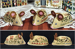 Gingerbread Mice from The Victoria Sampler - click for more
