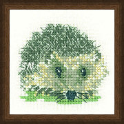 Little Friends Hedgehog from Valerie Pfeiffer - click to see more