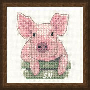 Little Friends Pig from Valerie Pfeiffer - click to see more