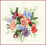 Sweet Pea Posy from Valerie Pfeiffer -- click for more