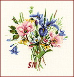 Wild Flower Posy from Valerie Pfeiffer -- click for more