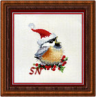 Christmas Chick from Valerie Pfeiffer -- click to see more