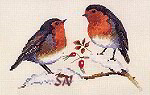 Winter Robins from Valerie Pfeiffer -- click for more