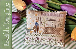 CS223 Basketful of Spring Time from With Thy Needle & Thread - click for more