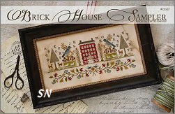 CS227 Brick House Sampler from With Thy Needle & Thread - click for more