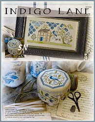 CS228 Indigo Lane from With Thy Needle & Thread - click for more