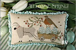 CS232 Welcome Spring from With Thy Needle & Thread - click for more