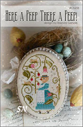 CS233 Here a PeepThere a Peep from With Thy Needle & Thread - click for more
