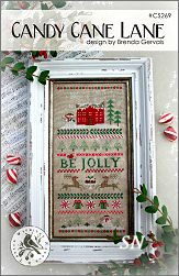Candy Cane Lane from With Thy Needle -- click to see lots more