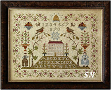 Sampler Hill from With Thy Needle & Thread - click for more