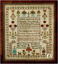Mary Jane Smallman 1836 from With Thy Needle & Thread - click for more