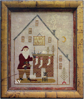 Christmas Cottage from With Thy Needle & Thread - click for more