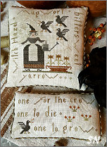CS191 One For The Crow from With Thy Needle & Thread - click for more