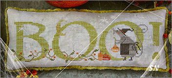CS193 Scary Mouse from With Thy Needle & Thread - click for more