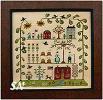 Summer Sampler of the Season from With Thy Needle & Thread - click for more
