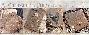 A Stitcher's Purse & Other Sewing Needfuls from With Thy Needle & Thread - click for more