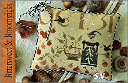 CS240 Bittersweet & Broomsticks from With Thy Needle & Thread - click for more