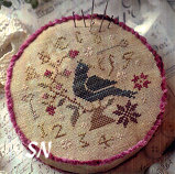 Brambleberry Bunting from With Thy Needle & Thread - click for more