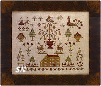 Cozy in the Pines from With Thy Needle & Thread - click for more