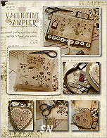 Valentine Sampler from With Thy Needle & Thread - click for more