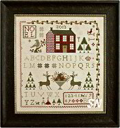 Noel Sampler from With Thy Needle & Thread - click for more