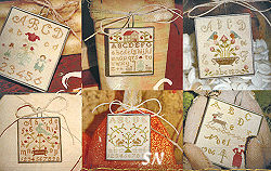 Friendship Samplers from With Thy Needle & Thread - click for more