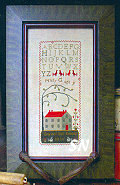 CS22 School Girl Sampler from With Thy Needle & Thread - click for more
