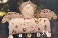 Joy to the World in Cross Stitch from With Thy Needle & Thread - click for more