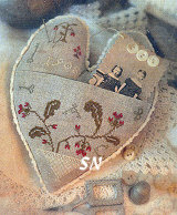 Love-Filled Heart from With Thy Needle & Thread - click for more
