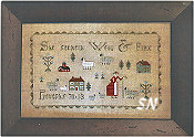 CS61 Proverbs 31:13 CROSS STITCH from With Thy Needle & Thread - click for more