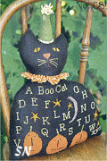 Black Cat Sampler from With Thy Needle & Thread - click to see more