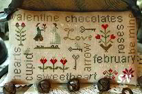 February Word Plays from With Thy Needle & Thread - click for more