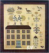 Mansion House at Fox Hollow from With Thy Needle & Thread - click for more