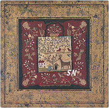 The Homestead Sampler from With Thy Needle & Thread - click for more