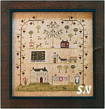 Sampler of the Season -- Spring from With Thy Needle & Thread - click for more