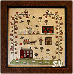 Autumn Sampler of the Season from With Thy Needle & Thread - click for more