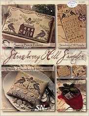 Strawberry Hill Sampler from With Thy Needle & Thread - click for more