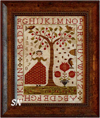Summer at Cherry Hill from With Thy Needle & Thread -- click to se lots more