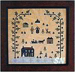 Sampler of the Season - Winter from With Thy Needle & Thread - click for more