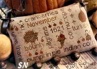 November Word Plays from With Thy Needle & Thread - click for more