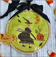 Holiday Hoop-la #3 Halloween CS259 from With Thy Needle -- click to see lots more