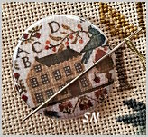 Summer Schoolhouse Stitch Dot from With Thy Needle - click for more