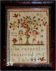 A & E from With Thy Needle & Thread -- click to se lots more