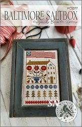 Baltimore Saltbox #277 from With Thy Needle -- click to see lots more